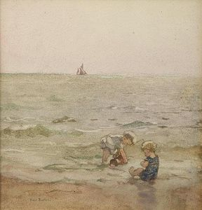 Order Art Reproduction : The Water by Rose Maynard Barton (1856-1930, Ireland) | WahooArt.com