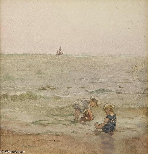 The Water by Rose Maynard Barton (1856-1930, Ireland) | Art Reproduction | WahooArt.com