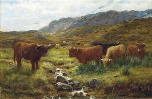Louis Bosworth Hurt - Afternoon On A Perthshire Moorland