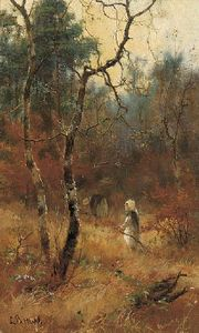 Louis Bosworth Hurt - Autumn In The Woods