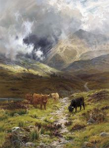 Louis Bosworth Hurt - Hills Of Ross Shire, Glen Torridon