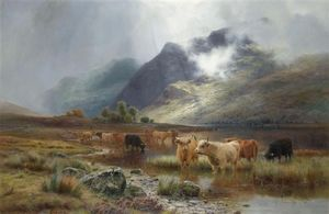 Louis Bosworth Hurt - Loch Lubnaig And Ben Vane