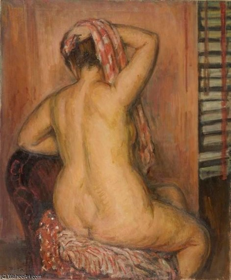 Back Study by Louis Ritman (1889-1963, Russia) | Oil Painting | WahooArt.com