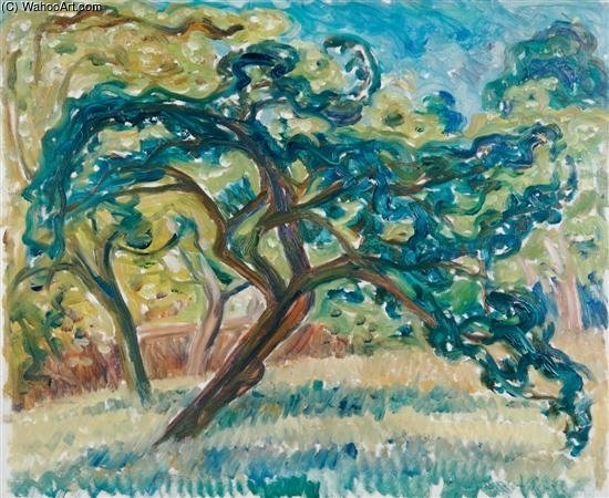 Rambling Tree by Louis Ritman (1889-1963, Russia) | Famous Paintings Reproductions | WahooArt.com
