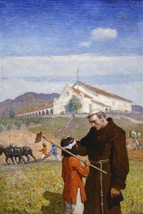 Nc Wyeth - A California Mission