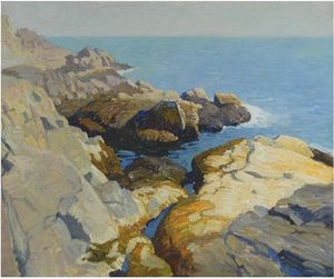 Nc Wyeth - Seascape, Maine