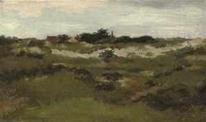 Paul Joseph Constantine Gabriel - A Cottage In The Dunes