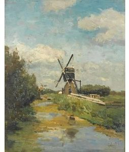 Paul Joseph Constantine Gabriel - The Windmill