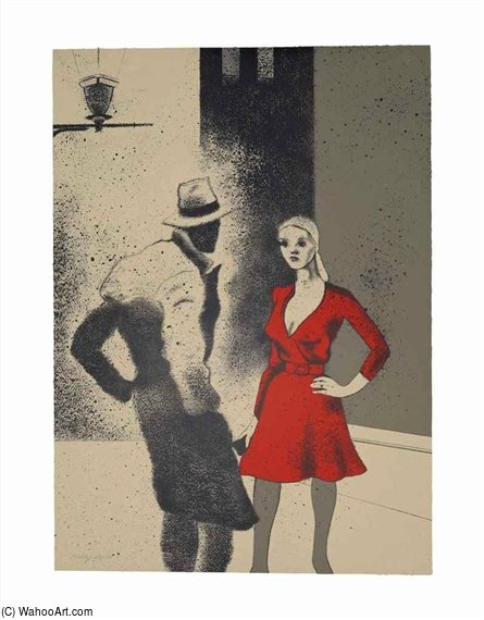 A Life by Ronald Brooks Kitaj (1932-2007, United States)