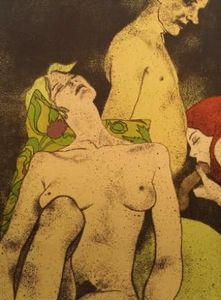 Ronald Brooks Kitaj - A Rash Act
