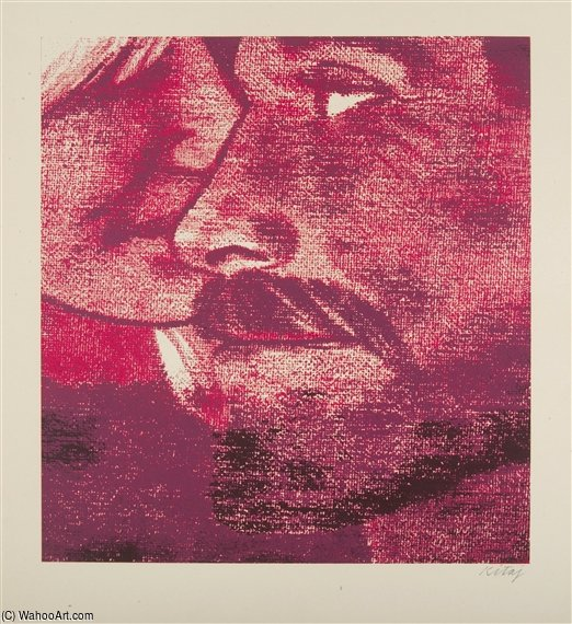Intimacy by Ronald Brooks Kitaj (1932-2007, United States)