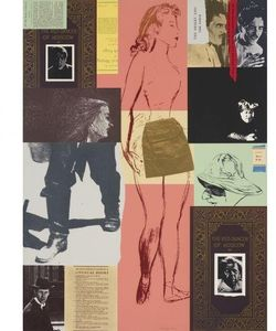 Ronald Brooks Kitaj - Ed Dancer From Moscow