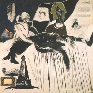 Ronald Brooks Kitaj - The Murder Of Rosa Luxemburg