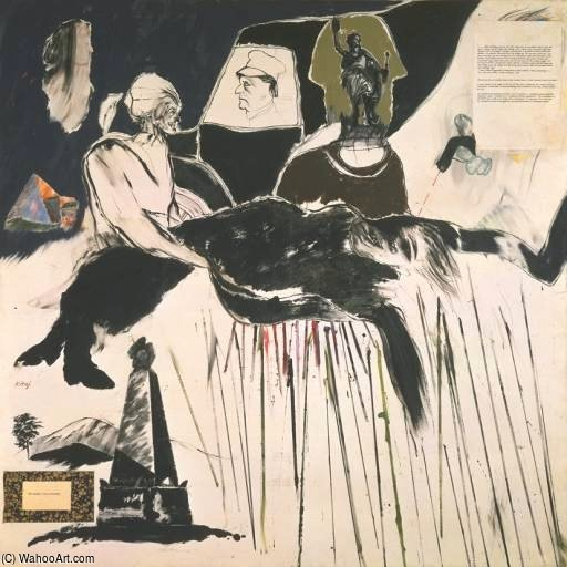 The Murder Of Rosa Luxemburg by R B Kitaj