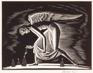 Rockwell Kent - Angel
