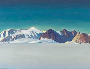 Rockwell Kent - Blue Day, Greenland