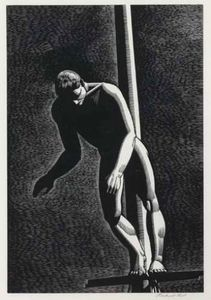 Rockwell Kent - Diver