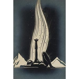 Rockwell Kent - Flame