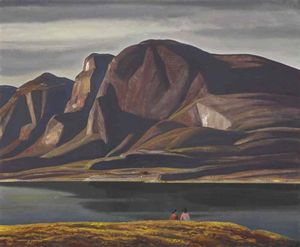 Rockwell Kent - Greenland (spring)