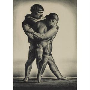 Rockwell Kent - Greenland Courtship
