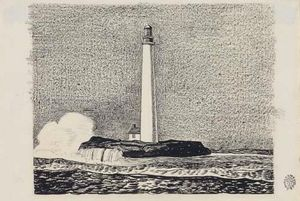 Rockwell Kent - Lighthouse