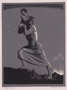 Rockwell Kent - Night Flight