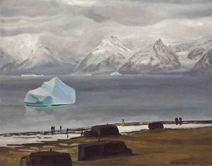 Rockwell Kent - Spring Thaw