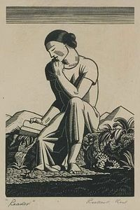 Rockwell Kent - The Reader