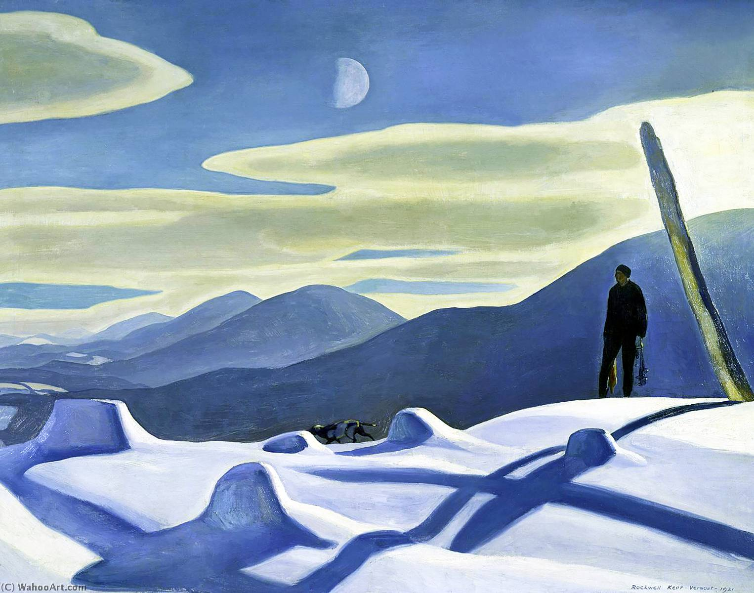What is Art? - Page 16 Rockwell-Kent-The-Trapper