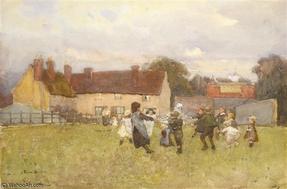 Here We Dance by Rose Maynard Barton (1856-1930, Ireland)