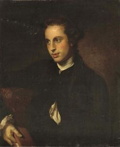 Nathaniel Dance-Holland - Holding A Book In His Right Hand