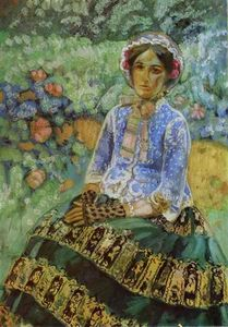 Victor Borisov Mtov - Woman In Blue