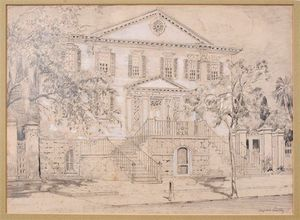 Alfred Heber Hutty - William Gibbes House