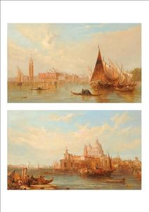 Alfred Pollentine - The Ducal Palace, Venice