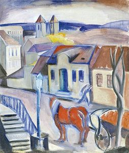 Armand Schonberger - View Of The City (buda)