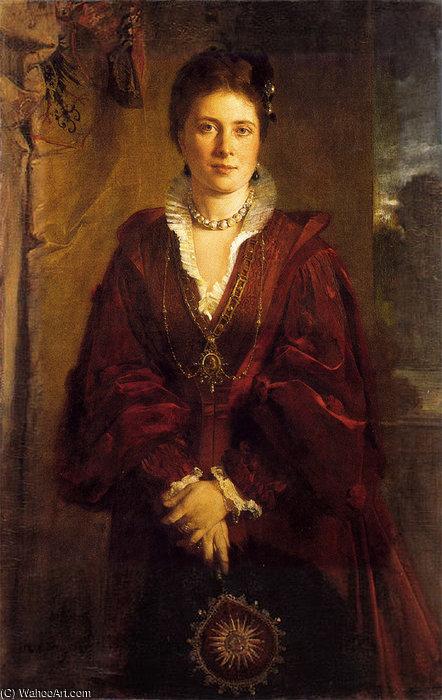 Crown Princess Victoria by Heinrich von Angeli (location
