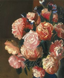 Boris Dmitrievich Grigoriev - Flowers