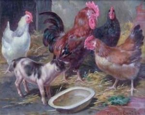 Claude Cardon - Farmyard Encounter
