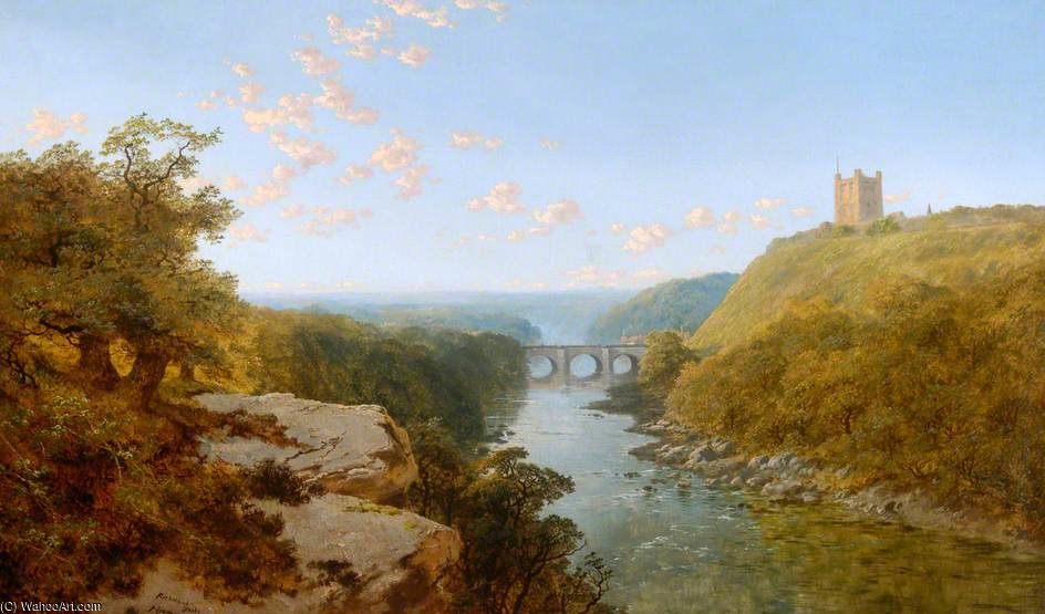 Order Museum Quality Copies | Richmond, North Yorkshire by Edmund John Niemann (1813-1876, United Kingdom) | WahooArt.com