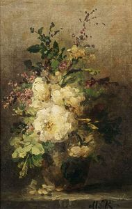 Margaretha Roosenboom - A Flower Still Life
