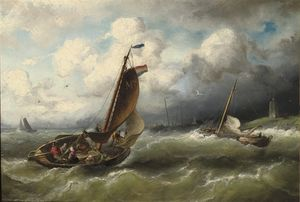 Nicolaas Riegen - Off The Coast Of Marken