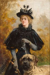 Otto Eerelman - A Lady With A Dog