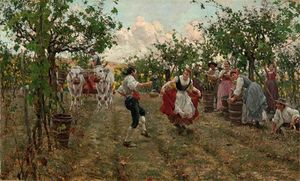Raffaelo Sorbi - The Harvest Dance