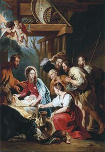Willem Van Herp The Elder - Nativity