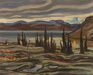 Alexander Young - Snow On The Hills, Great Bear Lake
