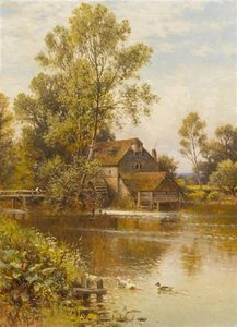 Alfred I Glendening - Mill On The River