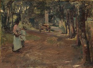 Elizabeth Adela Stanhope Forbes - On A Country Road