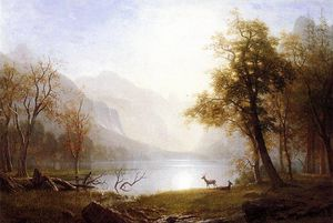 Albert Bierstadt - Valley in Kings Canyon