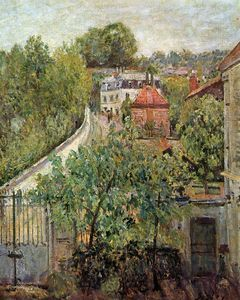 Alfred Sisley - View on S_vres Sun