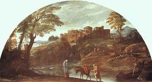 Annibale Carracci - the flight into egypt